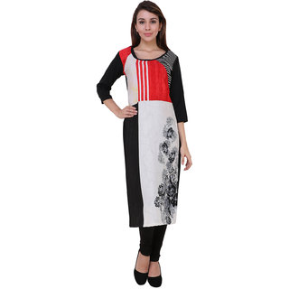 Ishrat Designs Casual Printed Women's Kurti