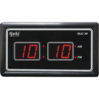 Ajanta Led Digital Wall Clock Olc 30