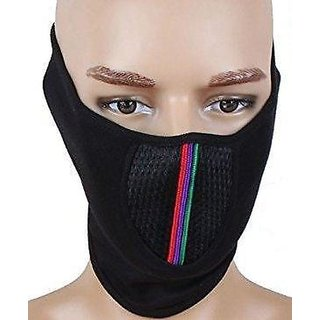 POLLUTION MASK HALF FACE CAP FOR BIKE RIDING/WALK/CYCLE/TRAFFIC