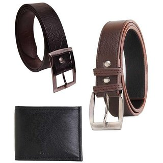 Combo of Wallet, Belt and  for Men