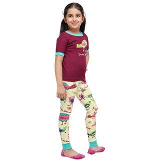 Tweet Dreams -Kids PJ Set Short Sleeves(Girls)
