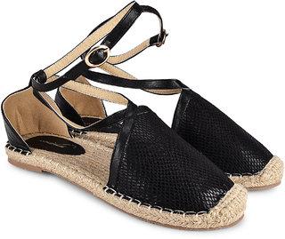 Wanderlust Women's Black Sandals