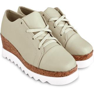 c54ef03dabae Buy Wanderlust Women s Beige Smart Casuals Shoes Online - Get 61% Off