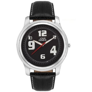 Louis Geneve LG-MW-B-BLACK-63 Stylish Analog Watch For Men