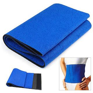 Kudize Advance Abdominal Belt Neoprene Deluxe Blue - XL