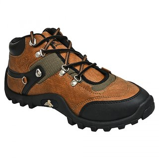 Bersache Men/Boys Brown Sports Running Shoes