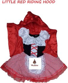 Little Red Riding Hood Fancy Dress Costume For Kids