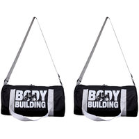 Frazzer Gym Duffle Bag (Combo Pack of 2)