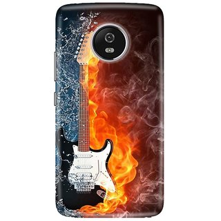 Motorola Moto G5 Plus Printed Cover By CareFone