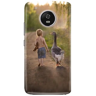 Motorola Moto G5 Printed Cover By CareFone