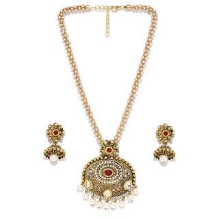 Zaveri Pearls Jaipur Style Necklace Set - ZPFK3774