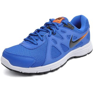 new arrival 3e14e 5e754 Nike Men Blue Revolution 2 MSLSports Shoes