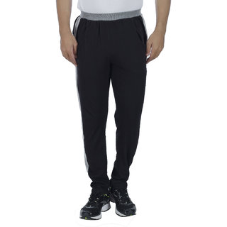 HARDYS COLLECTION Men's Black Trackpants