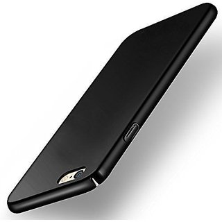 ipkay 360 Degree  Matte black Hard Case Back Cover For OPPO F1S Black