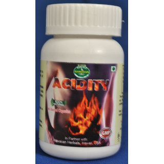 Hawaiian Herbal, Hawaii,USA - ACIDITY CAPSULE - 60 Capsules (Buy any Healthcare Supplement  Get the Same Drops Free)