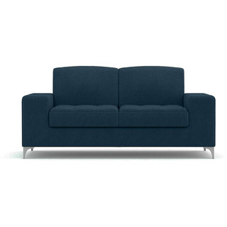 Earthwood-Angelo 2 Seater Sofa Dark Blue