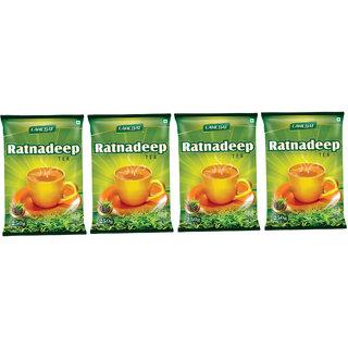 Ratnadeep Leaf Tea Combo of 4 (250 Gms each)