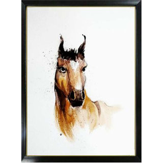 horse handmade painting made on high grade sheet