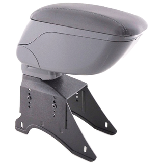 Car Arm Hand Rest Grey Consol For Mahindra TUV300