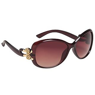 Louis Geneve Stylish  Fashionable Sunglasses For Women Round LG-SG-17-BR-BROWN
