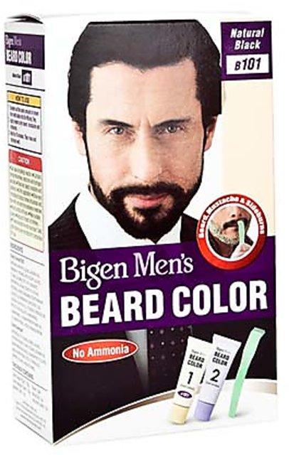 Bigen Men\'s Beard Color B 101 Natural Black 40ml