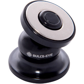 Reddot Mobile BULL'S EYE Magnetic Cradle-Less Hinge Technology world's smallest Ball Head Type Car Mobile Holder Black