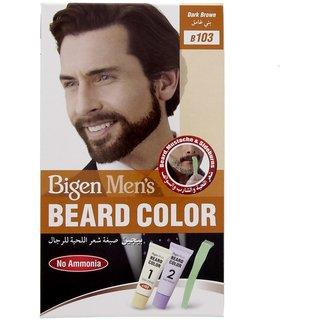 Bigen Men\'s Beard Color B 103 Dark Brown 40ml