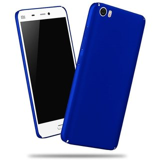Oppo Neo 7 Back Cover 360 DegreeSleek Rubberized Matte Hard Case Back Cover BlUE