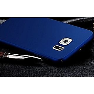 360 Degree Sleek Rubberised Hard Case Back Cover For Samsung Galaxy S7 Edge blue