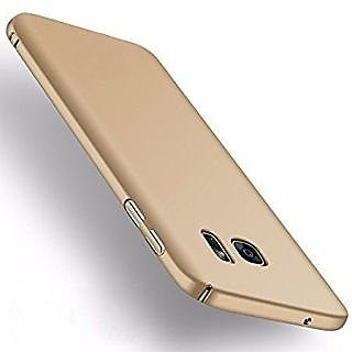 360 Degree Sleek Rubberised Hard Case Back Cover For Samsung Galaxy S6 Edge gld