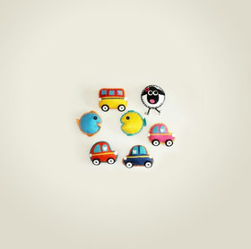 Direct Create Muchhad Magnets Assorted set of 4