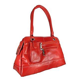 Bagizaa Box Handbag (Red) (MEST336)