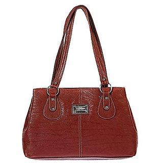 Bagizaa MEST5234 Brown Handbag