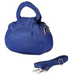 Bagizaa Medium Blue PUWomens And Girls Handbag