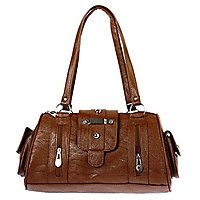 Bagizaa Womens Handbag (Brown,Mest5227)