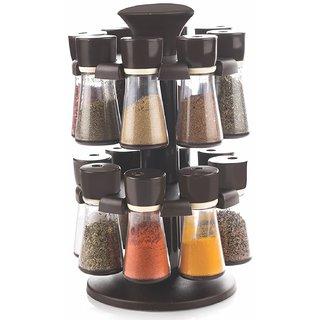 16 Jar Revolving Spice / Masala Rack / Masala Box / Spice Rack
