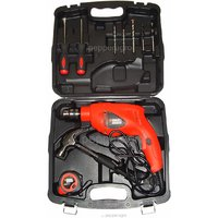 ELECTRIC BLACK DECKER DRILL HAMMER MACHINE KIT 10