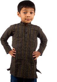 Pikaboo Striped Kids Kurta for Boys