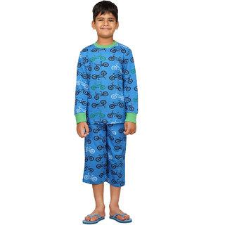 Cycle-Kids Tee & Payjama Set