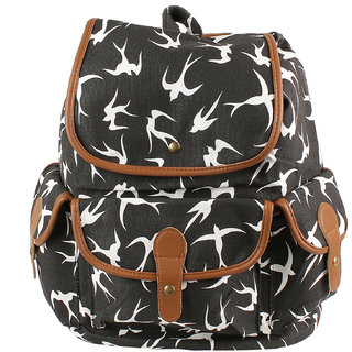 f06d6ec955 Classic black Shade Contemporary Print Backpack available at ShopClues for  Rs.1599