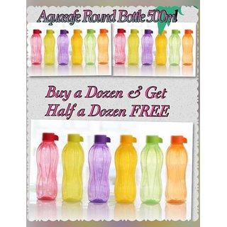 Aquasafe Round Bottle 500ml