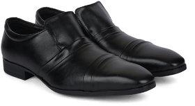Ziraffe QUEBEC Genuine Leather Black Men's Formal Shoes