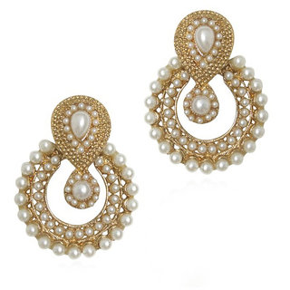 Penny Jewels Party Wear  Wedding Latest Chandbali Earrings Set For Women  Girls