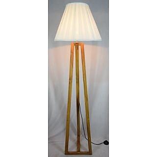 Pls Wooden Floor Lamp