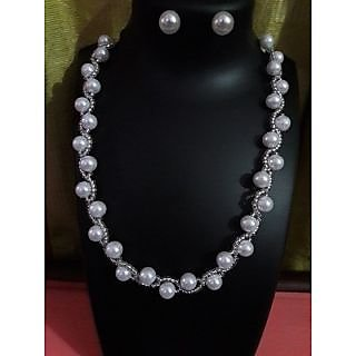 Prastara-Pearl Jewellery set