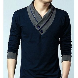 V NECK MEN FULL SLEEVE T-SHIRT ab0e030b9772