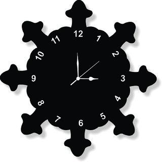 ENA DECOR WALL CLOCK CLOCK045 MDF WOODEN