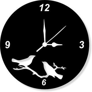 ENA DECOR WALL CLOCK CLOCK055 MDF WOODEN