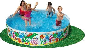 Intex Swimming Pool Water Pool 4 Feet For Kids Fun Without Air Pool