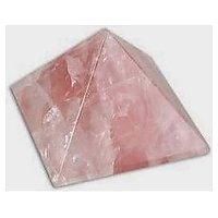 Feng Shui / Natural Rose Quartz Stone Pyramid For Good